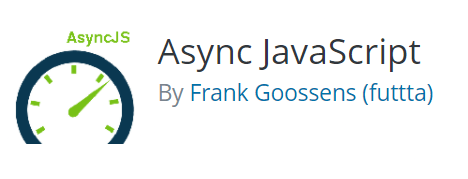 Async JavaScript WordPress SiteSpeed plugin