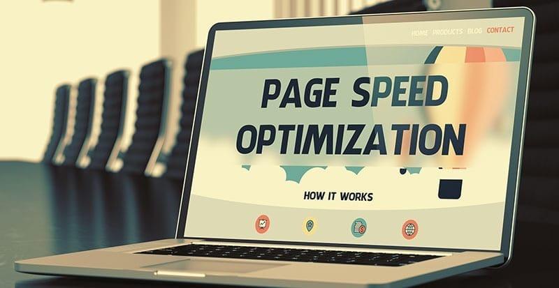 seo page speed optimization
